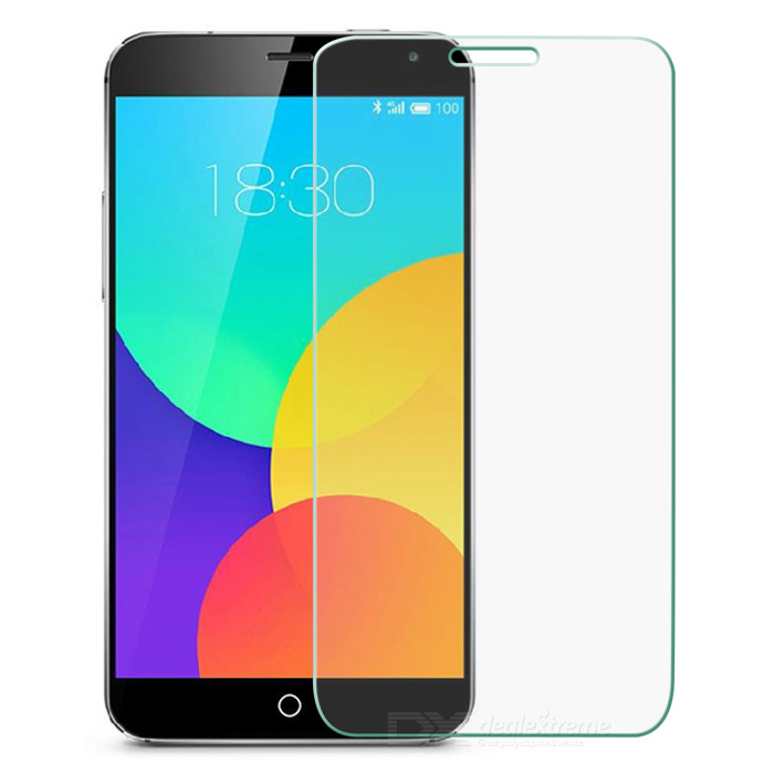 9H 0.26 Arc Tempered Glass Screen Guard for MEIZU MX4 - Transparent