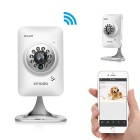 Zmodo ZH-IXB1D-WAC 720P HD Wi-Fi Mini IP Camera for Baby Monitor w/ Two Way Audio / Night Vision