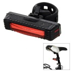 SOLDIER Waterproof Rechargeable Highlight 5-Mode 16-LED Bike Warning Light Red Light