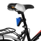 Sapphire Style Rechargeable Bike Taillight + Blue Laser Light - Blue