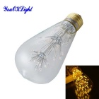 E27 3W 30-Emitter Decorative Edison Bulb Warm White 2230K 112lm