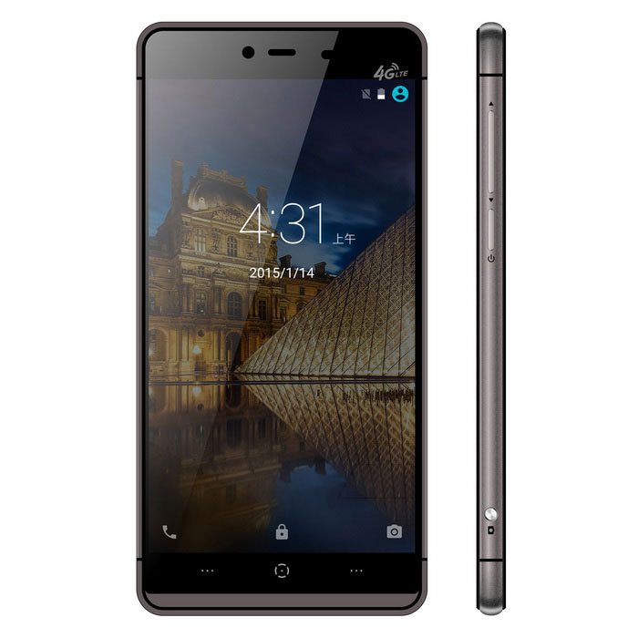 "KINGZONE K2 Android 5.1 4G Phone w/ 5.0"", 3GB RAM, 16GB ROM - Black"