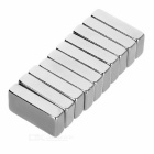 20*10*5mm NdFeB Magnets with & without Hole - Silver (10PCS)