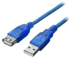 USB 2.0 Male to Female Extension Cable - Blue (1.8m)