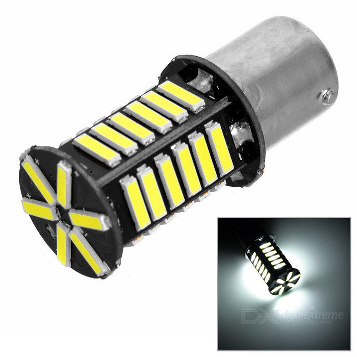 1156 4W LED Car Brake Lamp Backup Light Cold White 7000K 180lm 36-SMD
