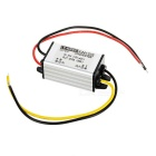 60W DC 24V to DC 12V 5A Voltage Step Down Power Converter for DVD / Car GPS & More - Silver