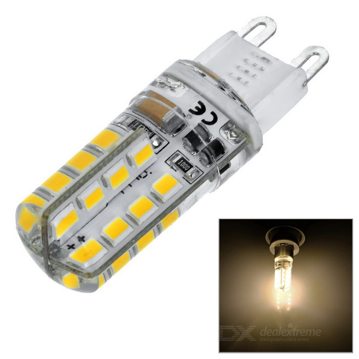 G9 2,5W LED Silicone Light White White 3000K 240lm 32-2835 SMD (2PCS)