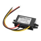 15W DC 12V to DC 5V 3A Voltage Step Down Power Converter for DVD / Car GPS & More - Black