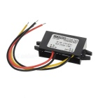 11W DC 12V to DC 3.7V 3A Voltage Step Down Power Converter for DVD / Car GPS & More - Black