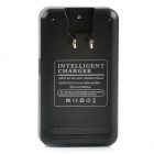 Intelligent USB Battery Charger for LG BL-51YF/G4 - Black (US Plugs)