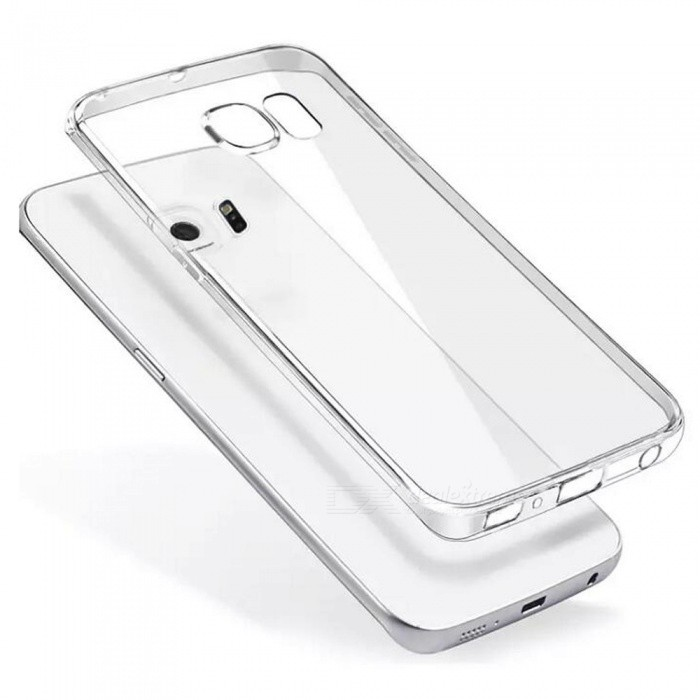 ASLING Protective Back Case for Samsung Galaxy S6 Edge - TransparentTPU Cases<br>Form  ColorTransparentModelASL-0006Quantity1 DX.PCM.Model.AttributeModel.UnitMaterialTPUShade Of ColorTransparentCompatible ModelsSamsung Galaxy S6 EdgeDesignTransparentStyleBack CasesPacking List1 x Protective Case<br>