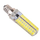 Dimmable E12 8W LED Corn Bulb Cold White Light 720lm SMD (AC 110V)