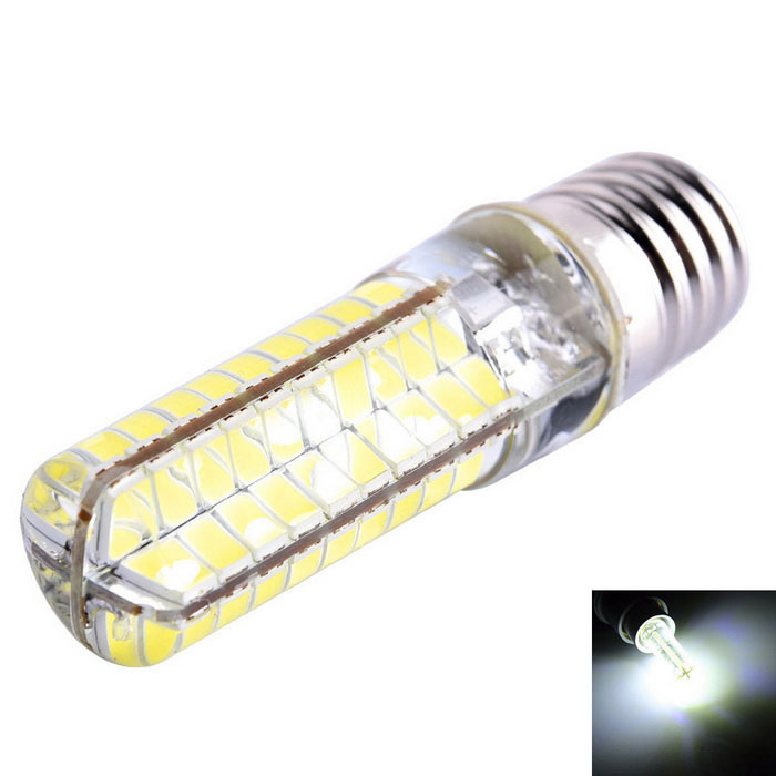 E17 8W Dimmable LED Corn Bulb Cool White Light 720lm 80-SMD (AC 110V)
