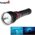 FandyFire L2 XM-L2 U2 1200lm LED Water / Land Applicable Diving Flashlight (2x 18650)