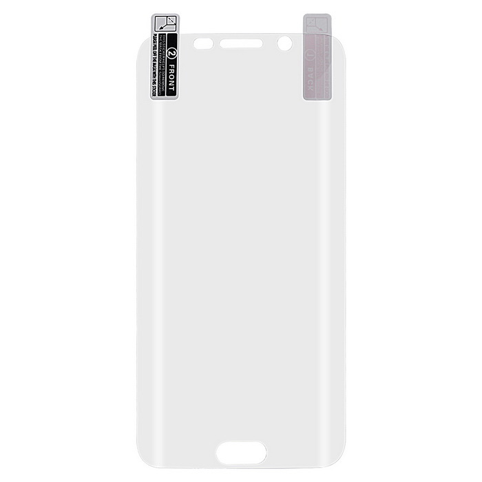 HW01818 3D Arc ARM Screen Protector for Samsung S6 Edge - Transparent
