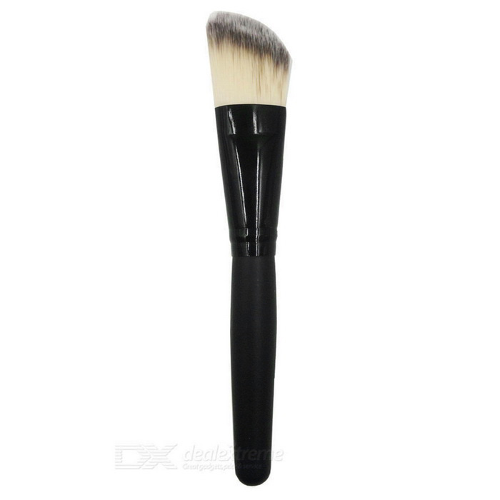 Portable Short Rod Foundation Brush - Black