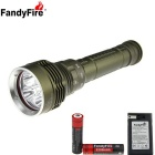 FandyFire 5-L2 XM-L2 U2 4800lm LED Water / Land Applicable Diving Flashlight (2 x 18650)
