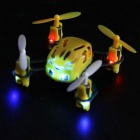 Hubsan H111 4-CH R/C Quadcopter AiR/Craft Toy for Children - Yellow