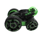 6-Channel Five Tires Remote Control 360° Rotation Car Toy - Black