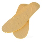 Foot Care Shock Absorption Sweat Uptake Insole for Men - Yellow