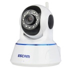 ESCAM QF002 720P 1MP Wi-Fi Security IP Camera - White (US Plug)