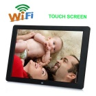 "12"" TFT Touch & Wi-Fi HD Digital Photo Frame w/ SD / USB / Built-in Speaker + Remote Control - Black"