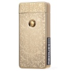 MAIKOU MK-001 USB Rechargeable Electronic Cigarette Lighter - Golden