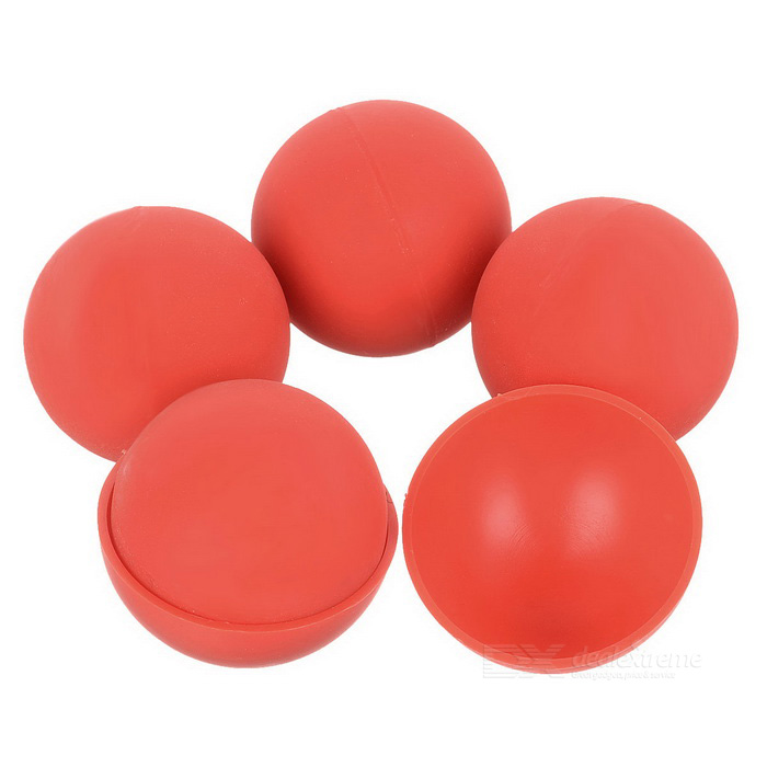Magic Skill Training Anti-Slip Silicone Balls Set - RedMagic Supplies<br>Form ColorRedMaterialSiliconeQuantity1 DX.PCM.Model.AttributeModel.UnitSuitable Age 12-15 years,Grown upsPacking List4 x Balls2 x Hemispherical balls<br>