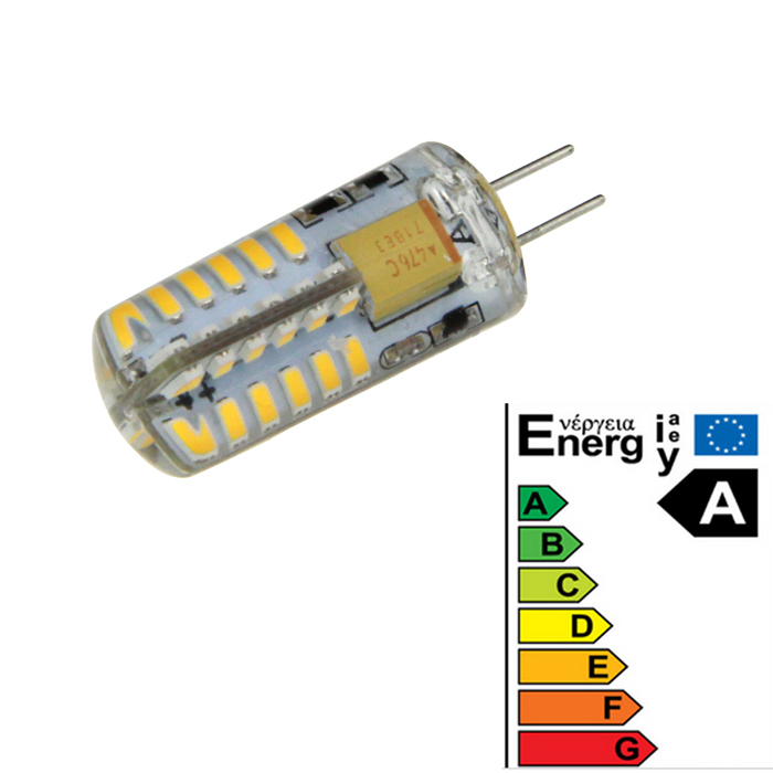 G4 3W 48-3014 360lm 3000K 12V LED Light Bulb Warm White - Yellow