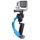 Steady Video Shooting Handheld Stabilizer for GOPRO 4/3+/3/2 - Blue