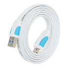 VENTION USB 3.0 Male to USB 3.0 Micro B Male Data Sync / Charging Cable - White + Blue (1m)