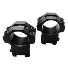 New 25mm Aluminum Alloy Gun Rail Mount w/ Hex Wrench - Black (2 PCS)
