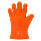 Hugmania Extra Thick Silicone Waterproof Durable Heat Insulation Oven Glove - Orange