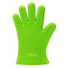 Hugmania Extra Thick Silicone Waterproof Durable Heat Insulation Oven Glove - Green