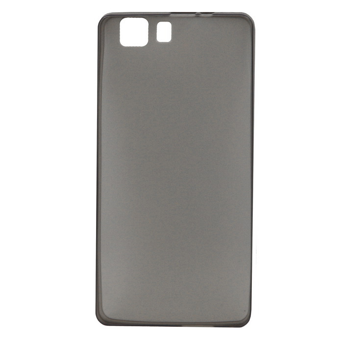 Protective TPU Back Case for DOOGEE X5 - Transparent Gray