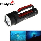 FandyFire 6-L2 XM-L2 U2 6000lm LED Water / Land Applicable Diving Flashlight ( 2 x 32650)