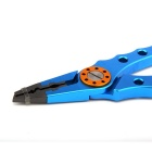 Aviation Hook Remover / Line Cutter Fishing Lure Pliers Tool - Blue