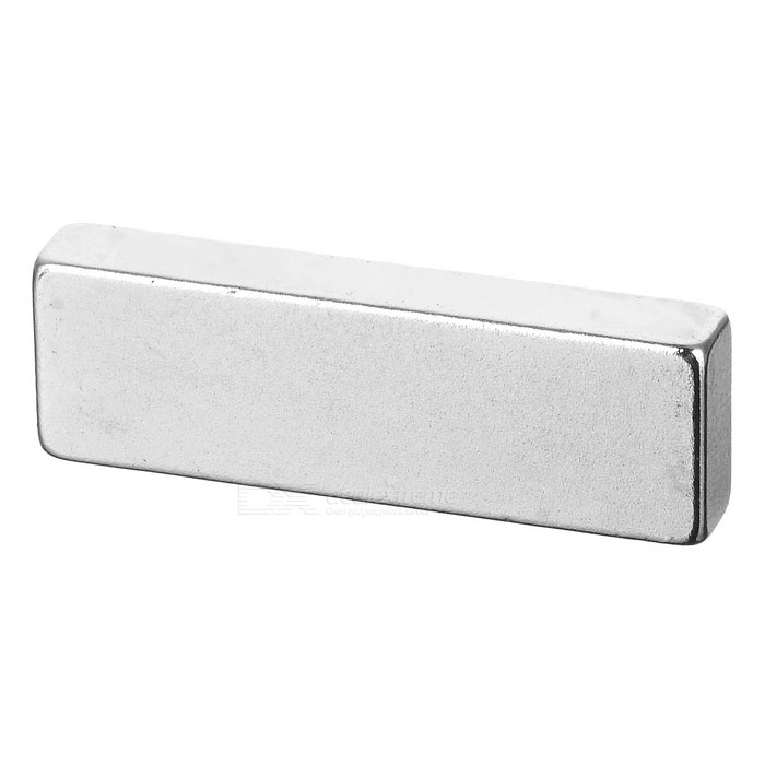 F30*10*4mm Rectangular NdFeB Magnet - White Silver
