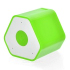 Mini Anti-Lost Subwoofer Bluetooth Speaker w/ Selfie Function - Green