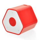 Mini Anti-Lost Subwoofer Bluetooth Speaker w/ Selfie Function - Red