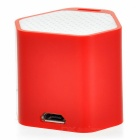 Mini Anti-Lost subwoofer altavoz Bluetooth con función Selfie - Rojo