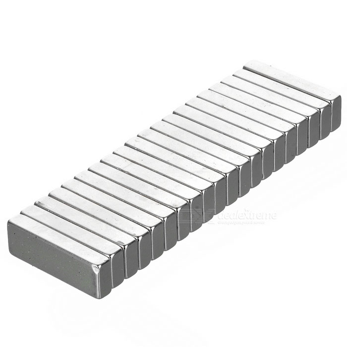 F30*10*4mm Rectangular NdFeB Magnet - Silver (20PCS)Magnets Gadgets<br>Form  ColorSilver WhiteMaterialNdFeBQuantity1 DX.PCM.Model.AttributeModel.UnitNumber20Suitable Age 8-11 years,12-15 years,Grown upsPacking List20 x Magnets<br>