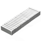 F30*10*4mm Rectangular NdFeB Magnet - Silver (20PCS)