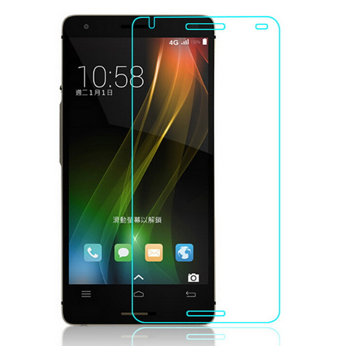 TOCHIC Tempered Glass Front Screen Guard Protector Film for Infocus M810 / M810T - Transparent