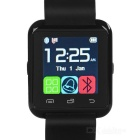 "Bluetooth V3.0 MTK6260 Smart Watch w/ 1.5"" Capacitive Screen, Pedometer, Altimeter, Barometer- Black"