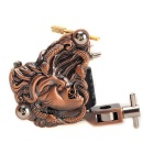 K500 10 Warps Coils 7000-9000 R/Minute Snake Witch Pattern Tattoo Machine