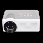 TS-350 Portable LED Mini Projector w/ USB / HDMI / TV / VGA / SD - White