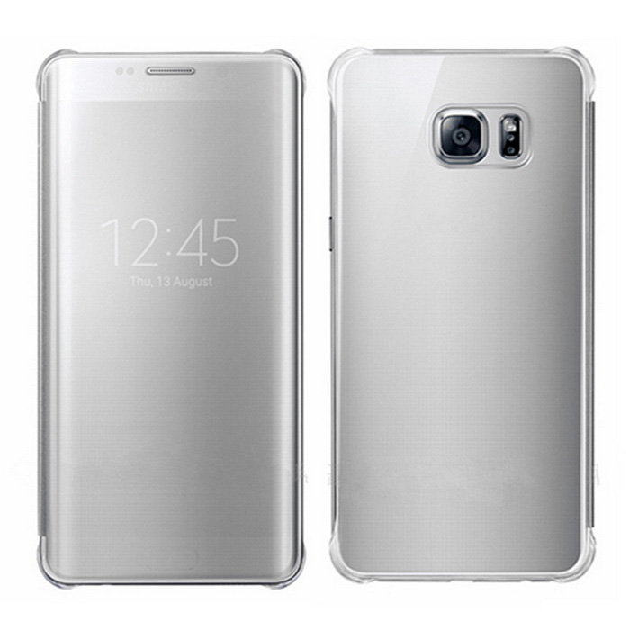 Mirror Protective Case for Samsung Galaxy S6 Edge Plus G9280 - Silver