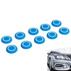 Car Anti-collision Tool Bumper Reversing Anti-Scratch Radar Probe Shape Design Rubber Cap (10 PCS)