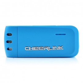CHEERLINK Hi-Fi 2-Mode Clip Style Digital Voice Recorder - Blue (4GB)